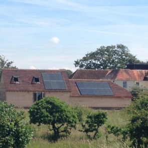In-Roof Solar Panel System