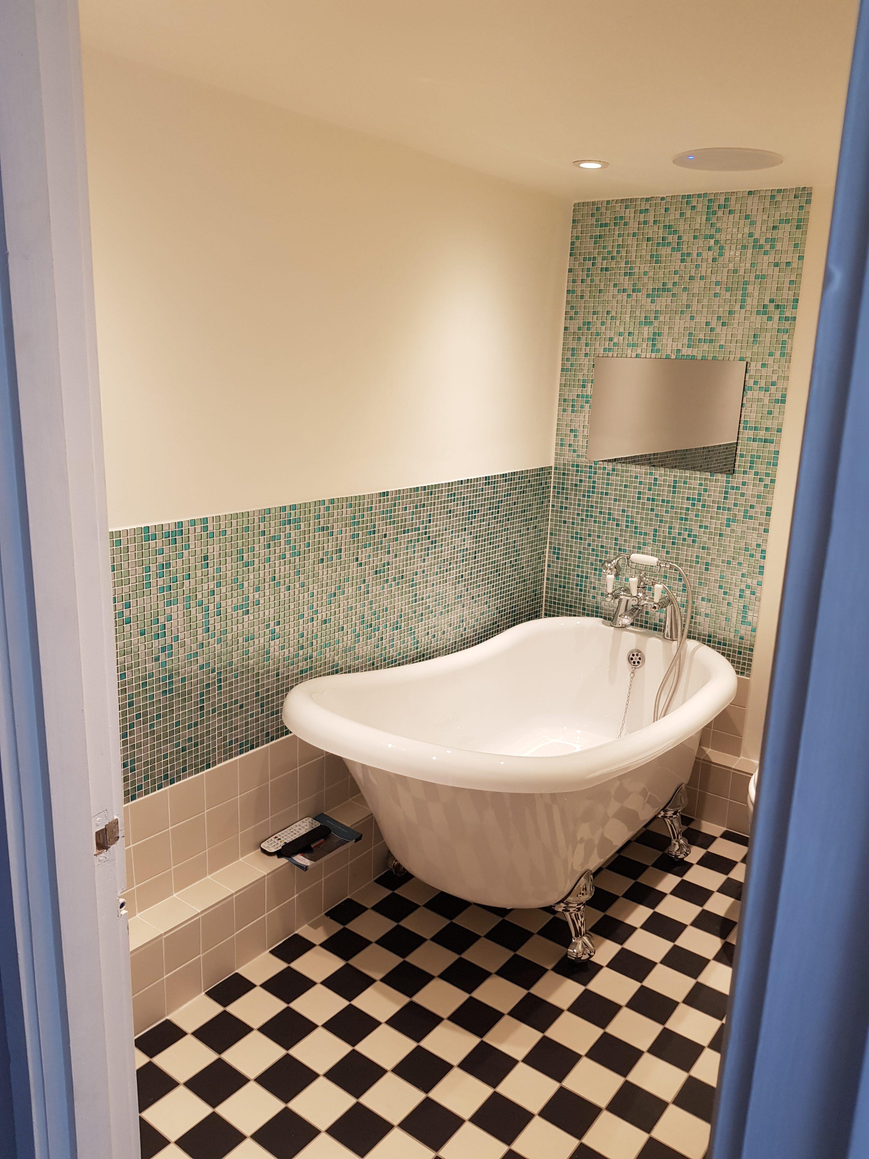 Bathroom, TV, Luxury